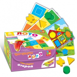фото Лото развивающее Vladi Toys «Чудо-сундучок»