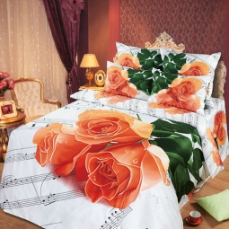 фото Комплект постельного белья АртПостель «Мелодия любви». Семейный