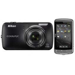 фото Фотокамера цифровая Nikon Coolpix S800c. Цвет: черный