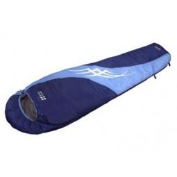 фото Спальный мешок NOVA TOUR «Сахалин». В ассортименте. Цвет: голубой, синий. Расположение молнии: правостороннее