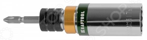 Бита с торцевой головкой Kraftool Expert 26399-H2 очки защитные kraftool expert 11007