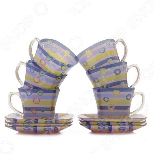 Чайный набор Loraine LR-24125Чайные и кофейные наборы<br>Чайный набор Loraine LR-24125 рассчитан на шесть персон. Он внесет яркий акцент в сервировку стола и станет отличным дополнением к набору ваших кухонных принадлежностей. Посуда выполнена из высококачественного стекла и украшена оригинальным рисунком. Торговая марка Loraine это синоним первоклассного качества и стильного современного дизайна. Компания занимается производством и продажей кухонных инструментов, аксессуаров, посуды и т.д. Функциональность, практичность и инновационные решения вот основные принципы торгового бренда Loraine.<br>
