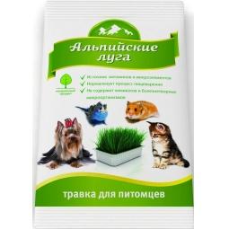 фото Трава для животных Альпийские луга универсальная