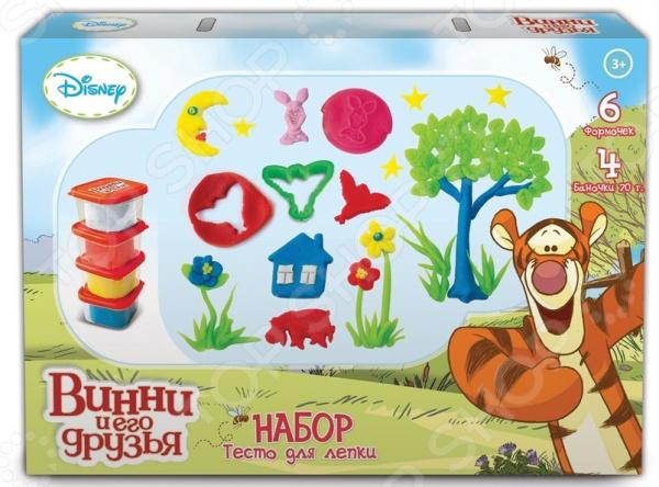 Набор теста для лепки 1 Toy «Winnie the Pooh» Т57459