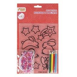 Купить Набор для творчества Color Puppy «Арт-выпечка. Колечки и браслетики». В ассортименте