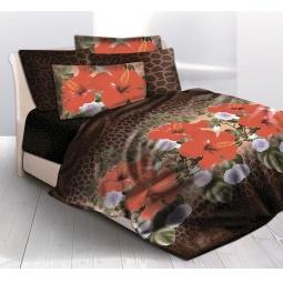 фото Комплект постельного белья Унисон «Суданская Роза». Семейный