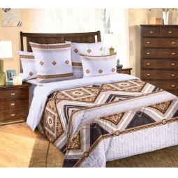 фото Комплект постельного белья Белиссимо «Стиль». 2-спальный. Цвет: серый