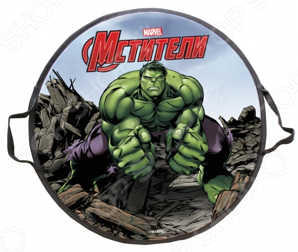 Ледянка MARVEL Hulk ледянка marvel hulk 52 см круглая