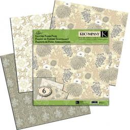 Купить Набор бумаги для скрапбукинга K&Company «Блестящая элегантность»