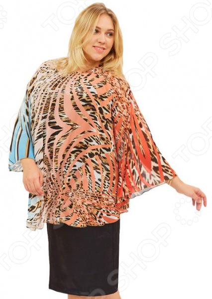 Платье СВМ-ПРИНТ «Дивная птица». Цвет: красныйПовседневные платья<br>Платье СВМ-ПРИНТ Дивная птица это стильное платье, которое поможет вам создавать невероятные образы, всегда оставаясь женственной и утонченной. Благодаря загадочному силуэту оно скроет недостатки фигуры и подчеркнет достоинства. В этом платье вы будете чувствовать себя блистательно как на работе, так и на вечерней прогулке по городу. Легкая, шифоновая накидка только обозначит силуэт , но позволит скрыть все лишнее порою это так важно для женщины. Платье длиной до колена, круглый вырез горловины. Платье выполнено из плотного атласа с большим содержанием лайкры 92 полиэстер, 8 лайкра , это самое лучшее сочетание для легкой подтяжки силуэта, но свобода движения обеспечена на 100 ! Материал не скатывается и не линяет после стирки. Даже после длительных стирок и использования платье будет выглядеть прекрасно. Уникальная модель, которую можно приобрести только на нашем телеканале!<br>