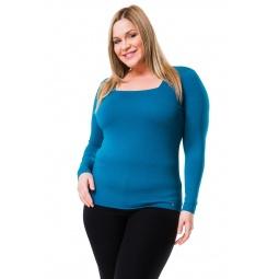 фото Кофта Mondigo XL 7014. Цвет: морской волны. Размер одежды: 48