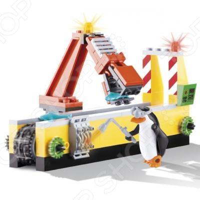 Конструктор игровой Cobi «Ограбление рыбной фабрики»Игровые конструкторы<br>Конструктор игровой Cobi Ограбление рыбной фабрики прекрасный подарок для поклонников мультфильма. Комплект содержит детали, с помощью которых можно собрать устройство для взлома и перевоза рыбы. В комплекте фигурка Рико. Сборка не только развлекает, но и помогает развивать моторику рук, логическое мышление и воображение ребенка. Все детали выполнены из нетоксичных материалов, поэтому полностью безопасны. Рекомендуется для детишек от 6 лет и старше. Преимущества:  Множество оригинально выполненных элементов.  Увлекательный процесс сборки.  Качественный материал.<br>