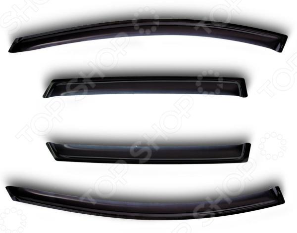 Дефлекторы окон Novline-Autofamily Audi Q5 2008 на 4 окнаДефлекторы<br>Дефлекторы окон Novline-Autofamily Audi Q5 2008 на 4 окна практичное дополнение для транспортного средства, которое выполняет множество функций. Во-первых, улучшение аэродинамики: конструкция дефлектора нормализует поток воздуха в салон автомобиля, создавая комфортные условия для езды. Вы можете ехать на повышенной скорости, полностью открыв окна, и не чувствовать резких порывов ветра исключительно приятную прохладу и свежесть, которой так не хватает в душном салоне авто. Во-вторых, постоянная циркуляция воздуха предотвращает запотевание стекол и сохраняет отличную видимость дороги для водителя. В-третьих, так называемые, ветровики надежно защищают водителя и пассажиров от пыли, грязи, мелких предметов и даже пролетающих мимо насекомых. Дефлекторы также играют роль регулятора, уравновешивая температуру салона и окружающей среды. Наконец, дефлекторы используются в качестве декоративных элементов автомобиля, подчеркивая его стиль и создавая более обтекаемый изящный экстерьер. Ветровики выполнены из прочного материала, устойчивого к резким перепадам температур, механическим воздействиям и влиянию солнечных лучей. Комплект дефлекторов рассчитан на четыре окна. Товар, представленный на фотографии, может незначительно отличаться по форме от данной модели. Фотография представлена для общего ознакомления покупателя с цветовым ассортиментом и качеством исполнения товаров данного производителя.<br>