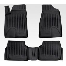 Комплект 3D ковриков в салон автомобиля Novline-Autofamily Jeep Grand Cherokee 2014 - фото 2
