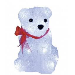 фото Фигурка с подсветкой Star Trading «Медвежонок с бантом» 583-35