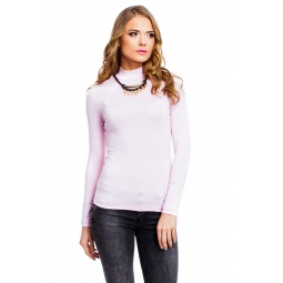 фото Водолазка Mondigo 036. Цвет: бледно-розовый. Размер одежды: 42