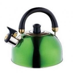 фото Чайник Wellberg «Яркий экспресс». Цвет: зеленый