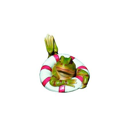 Купить Фигурка садовая плавающая GREEN APPLE GRWD1-17 «Лягушка»
