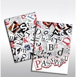 фото Обложка для паспорта Феникс-Презент «Буквы»