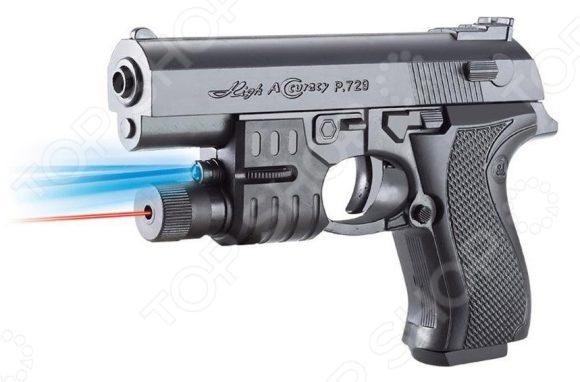 Пистолет игрушечный Shantou Gepai ES1003-729APB игрушечное оружие edison игрушечный пистолет стерлинг золотой 17 5 см
