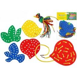 фото Игра развивающая для малыша Tukzar «Шнуровка. Листья»