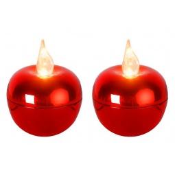 фото Набор из 2-х свечей Star Trading 068-18 Mini «Яблоко»