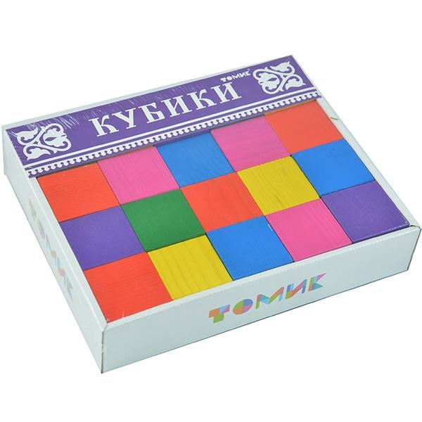 Кубики деревянные Томик 22002