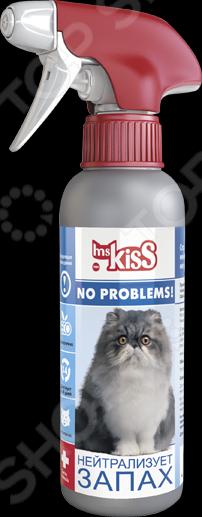 Спрей ликвидатор запаха кошек Ms.Kiss «Нейтрализует запах» спрей ликвидатор запаха и пятен с ковровых покрытий zoo clean универсальный