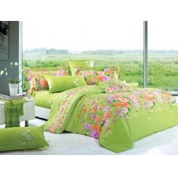 фото Комплект постельного белья Amore Mio Green. Provence. Евро