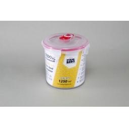 фото Контейнер вакуумный Stahlberg для продуктов. Цвет: розовый