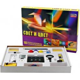 Купить Набор для опытов Научные развлечения «Свет и цвет»