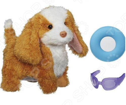 фото Игрушка интерактивная мягкая Hasbro Спаниель, Мягкие интерактивные игрушки