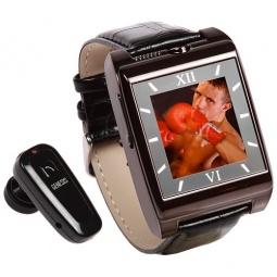 Купить Часы-мобильный телефон Watchtech V5 черные