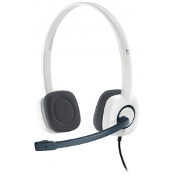 фото Гарнитура Logitech Stereo Headset H150. Цвет: белый