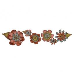 фото Форма для вырубки Sizzix Decorative Strip Die Цветочки