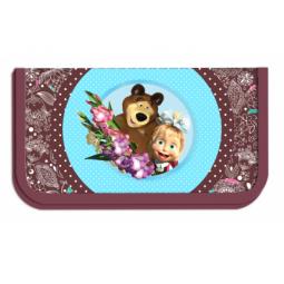 Купить Пенал Маша и Медведь «Бирюза» 22103