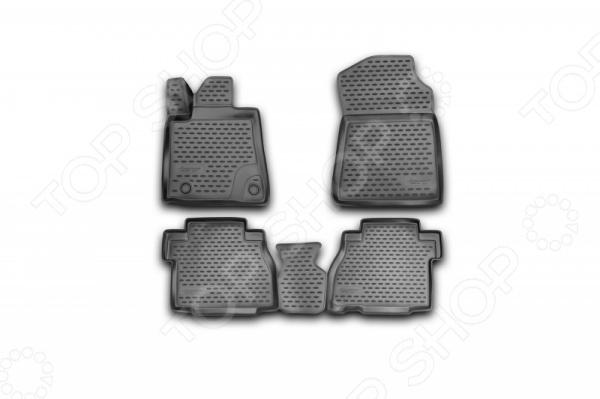 Комплект 3D ковриков в салон автомобиля Novline-Autofamily Toyota Tundra Double Cab / Crew MAX 2007-2013Коврики в салон<br>Комплект 3D ковриков в салон автомобиля Novline Autofamily Toyota Prius 20 RH 2003-2009 объемные коврики, созданные для сохранения чистоты в салоне автомобиля. Сделаны из плотного полиуретана, обладают повышенной прочностью, износостойкостью и очень удобны в использовании. Эти коврики станут неотъемлемой частью вашего автомобильного интерьера. Они очень удобны в обращении и не требуют особых условий чистки. В комплекте есть 5 предметов.<br>
