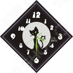Часы настенные Вега П 3-673-1 часы настенные вега п 1 674 6 304 черно белые ромашки