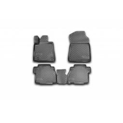 Комплект ковриков в салон автомобиля Novline-Autofamily Toyota Hilux 2015 / 5 пикап - фото 8
