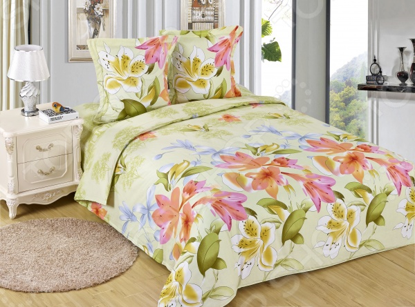 Комплект постельного белья Amore Mio Nuans. Poplin. 2-спальный2-спальные<br>Комплект постельного белья Amore Mio Nuans. Poplin это удобное постельное белье, которое подойдет для ежедневного использования. Чтобы ваш сон всегда был приятным, а пробуждение легким, необходимо подобрать то постельное белье, которое будет соответствовать всем вашим пожеланиям. Приятный цвет, нежный принт и высокое качество ткани обеспечат вам крепкий и спокойный сон. 100 хлопок, из которого сшит комплект отличается следующими качествами:  достаточно мягка и приятна на ощупь, не имеет склонности к скатыванию, линянию, протиранию, обладает повышенной гигроскопичностью, практически не мнется, не растягивается, не садится, не выгорает, гипоаллергенна, хорошо отстирывается и не теряет при этом своих насыщенных цветов;  ворсинки равномерно распределяют статическое электричество;  это самая современная фотопечать, которая прекрасно передает цвет и мельчайшие детали изображения;  за счёт специального переплетения волокон ткань устойчива к механическим воздействиям. Перед первым применением комплект постельного белья рекомендуется постирать. Перед стиркой выверните наизнанку наволочки и пододеяльник. Для сохранения цвета не используйте порошки, которые содержат отбеливатель. Рекомендуемая температура стирки: 40 С и ниже без использования кондиционера или смягчителя воды.<br>