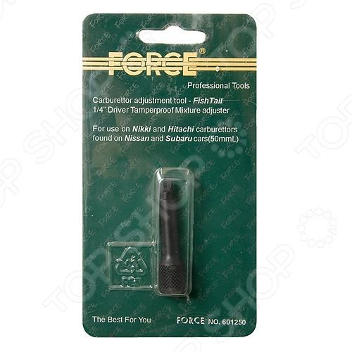 Спецключ для карбюратора Force F-601250 ключ накидной 12 гранный прямой силовой force f 793