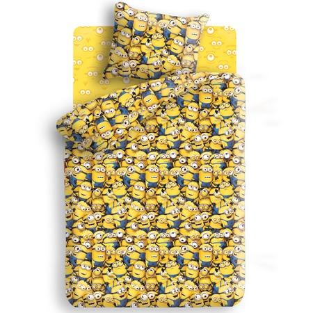 Купить Детский комплект постельного белья Непоседа «Миньоны». 1,5-спальный