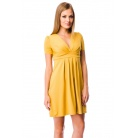 Фото Платье Mondigo 6087. Цвет: горчичный. Размер одежды: 44