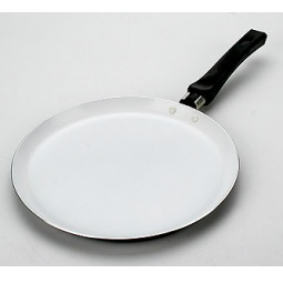 фото Сковорода блинная Mayer&Boch с эмалированным покрытием. Диаметр: 26 см. Цвет: черный