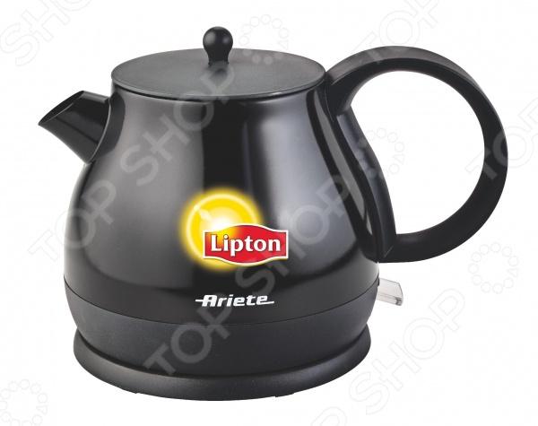 Чайник Ariete 2871Чайники электрические<br>Чайник Ariete 2871 это отличное решение для тех, кто любит устраивать быстрые перерывы на чай или кофе на работе или торопится сделать чай для всей семьи с утра. Это возможно благодаря нагревательному элементу, за счет которого вода закипает за несколько минут. Чайник прост в управлении и долговечен в использовании.<br>