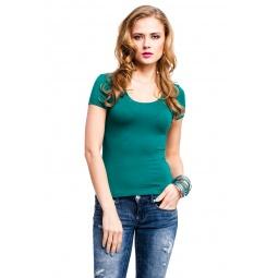 фото Футболка Mondigo 490. Цвет: темно-зеленый. Размер одежды: 44