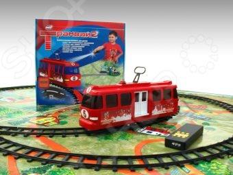 Набор игровой: железная дорога и трамвай Спорт Тойз 52211 игрушка mehano 1 f101 набор рельс