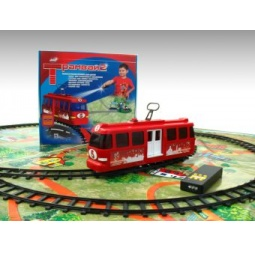 фото Набор игровой: железная дорога и трамвай Спорт Тойз 52211