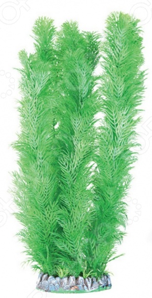 Искусственное растение DEZZIE 5610252Аквариумный дизайн<br>Искусственное растение DEZZIE 5610252 это прекрасное украшение для вашего аквариума, которое наполнит его внутреннее пространство новыми цветами и яркими красками подводного мира. Кроме эстетического, растения имеют и практическое применение. Среди его ветвей рыбы найдут себе уютное убежище от агрессивных обитателей аквариума, а также смогут весело резвиться вокруг. Отличительной особенностью искусственного растения является наличие собственного устойчивого дна, которое не требует дополнительного утяжеления и без особых трудностей устанавливается на грунт. Краска изделия устойчива к воздействию водной среды, благодаря чему вам не придется тратить много времени ухаживая за ним. Все, что необходимо сделать, достать растение из аквариума, протереть его тряпкой и оно снова готово к использованию. Добавьте оригинальности и индивидуальности своему аквариуму благодаря искусственному растению данной модели.<br>