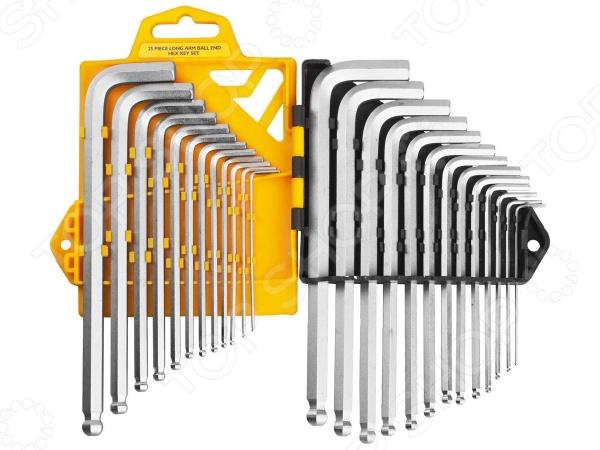 Набор ключей имбусовых длинных с шариком JCB JWR005 набор ключей имбусовых длинных с шариком kraftool expert 27431 2 z01